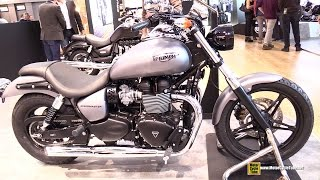 8. 2015 Triumph Speedmaster - Walkaround - 2014 EICMA Milan Motorcycle Exhibition
