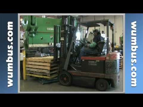 Forklift Safety Triangle of Stability Safety Video