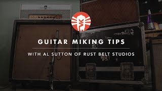 Video Guitar Miking Tips With Al Sutton of Rust Belt Studios MP3, 3GP, MP4, WEBM, AVI, FLV Desember 2018