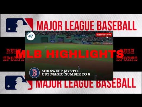 MLB Thursday Night Highlights
