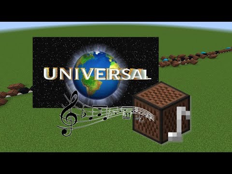 Minecraft: Universal Studios Theme With Note Blocks