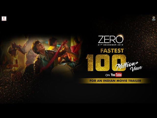 શાહરૂખની અપકમિંગ ફિલ્મ 'ઝીરો'નું ટ્રેલર જોયુ કે નહીં....?