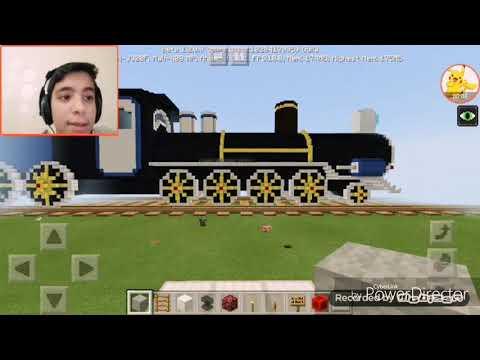 Minecraft tren mepini inceliyoruz