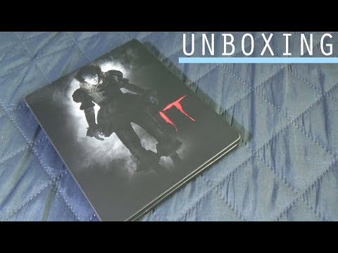 UNBOXING & BLURAY MENU REVIEW  | IT 2017 (STEELBOOK) Blu-ray