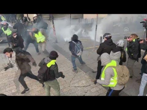 «Κίτρινα γιλέκα»: 31.000 διαδηλωτές στη Γαλλία, 700 προσαγωγές