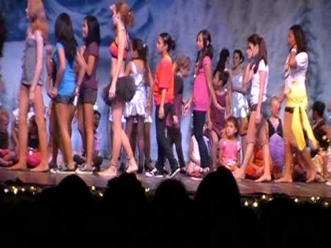 Aloha Dance Studio - Aloha Dance Studio Winter Wonderland Recital 12*16*10.