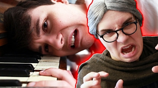 The story of how my dream of playing the piano was crushed by a sadistic monster. Click here: ...