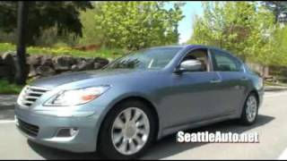 2009 Hyundai Genesis Review From SeattleAuto.net