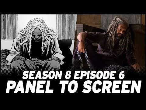 The Walking Dead Season 8, Episode 6 - Show vs. Comic!