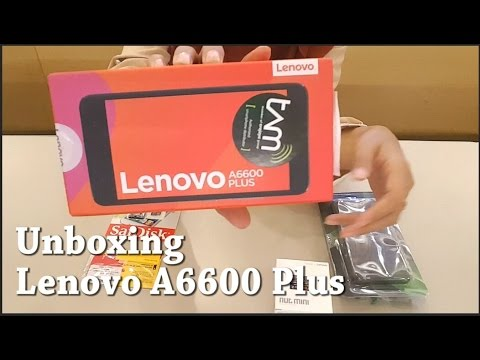 Unboxing Lenovo A6600 Plus Indonesia