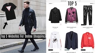 TOP 5 WEBSITES TO SHOP ONLINE FOR MENS STREETWEAR - Fashion 2019