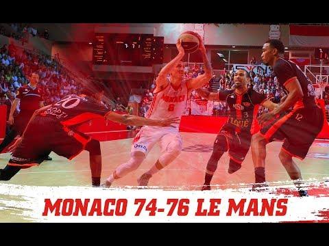 PLAYOFFS — Monaco 74-76 Le Mans — Finale, Épilogue — Highlights