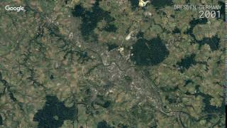 Dresden Germany  city photo : Google Timelapse: Dresden, Germany