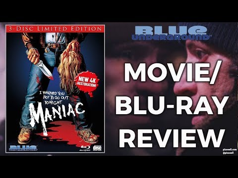 MANIAC (1980) - Movie/3-Disc Limited Edition Blu-ray Review (Blue Underground)