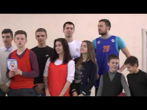 Алексей Чиликин и Александр Полинкевич провели «Урок баскетбола» в самарской школе № 69