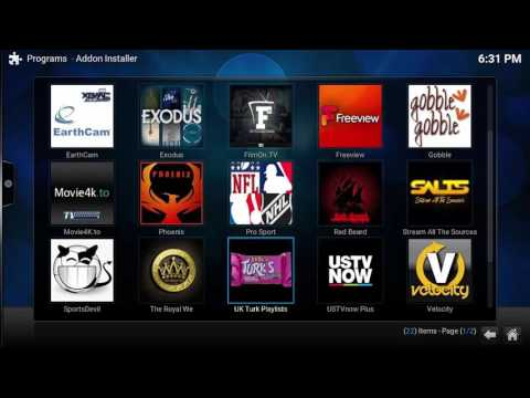 XBMC/KODI - How To Install The NEW Kodi Jarvis and addons Part 2