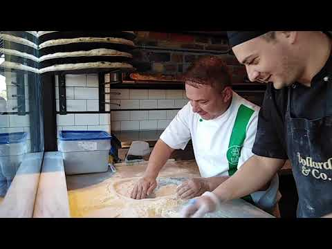 PIZZA CHEF PAUL DATCU AT EMERALD PIZZA ACADEMY DUBLIN, IRELAND