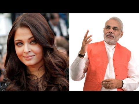 Aishwarya Rai praises Narendra Modi at Cannes 2014