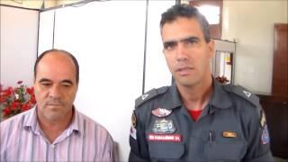 Bombeiros na TV Portal Dores de Campos