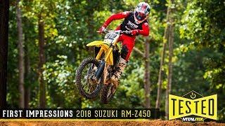 6. Vital MX First Impressions: 2018 Suzuki RM-Z450