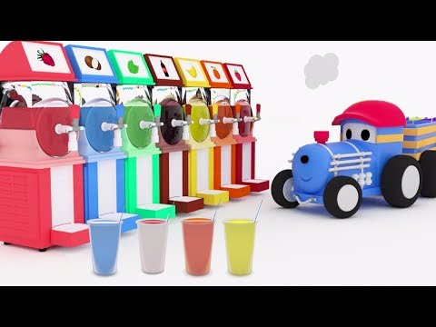 Granitas ! Aprenda os cores com Ted o Trem | Desenho Animado Educativo