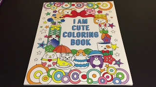 Video Review: I Am Cute Coloring Book with Markers