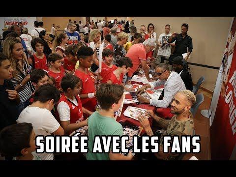 Soirée avec les fans
