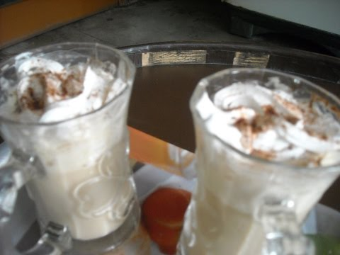 Instant Cold Coffee With Whipped Cream