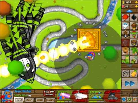 BTD5 Sun God Temple Upgrade for Super Monkey