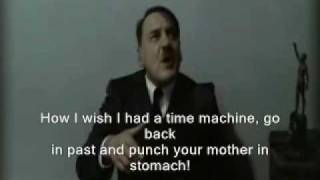 Hitler is informed that Gunsche's wife had an abortion