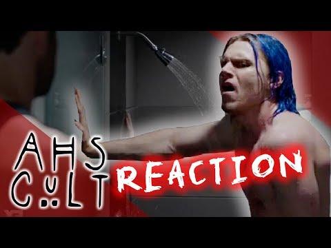 American Horror Story Cult Reaction Video | Kai Self Love in Shower