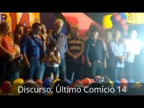 Edimar Santos, DISCURSO Comício FINAL em Santa Cecília do Pavão