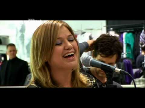 Kelly Clarkson My Life Would Suck Without You Live BBC Sound