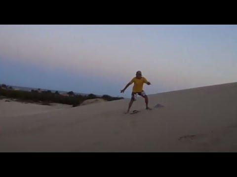 Sandboard em Rondinha