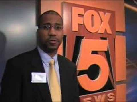 Rob Malone at Mentoring Monday (Fox 5 News-DC)