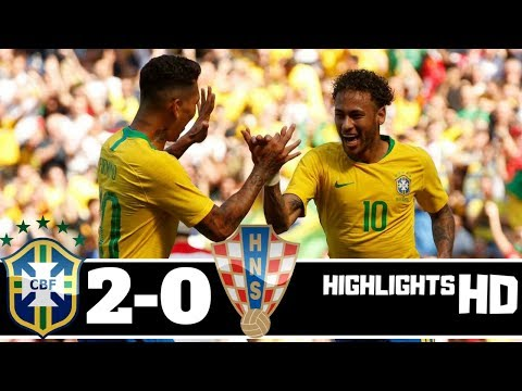 brazil vs croatia 2 0  2018 All Goals and Extended Highlights HD
