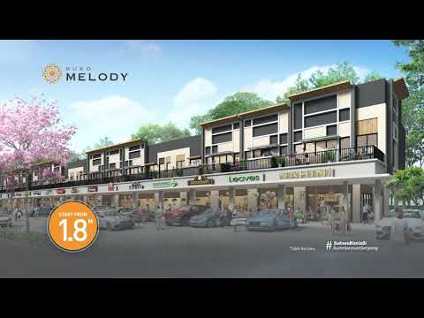 Ruko Melody @ Symphonia Summarecon Serpong, New Business Concept Area for Your New Business Ideas