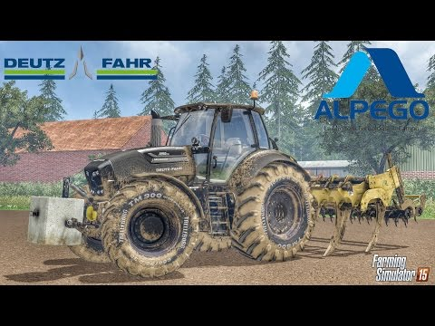 Deutz Fahr 7250TTV Warrior v3.0