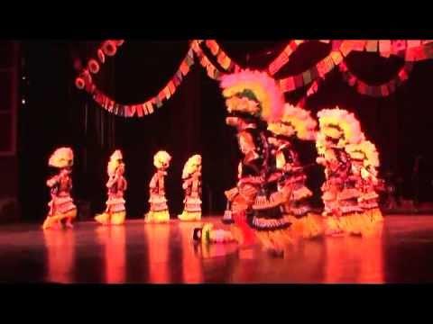 Coahuila - Procesion, Danza Tlaxcalteca del Ojo de Agua.