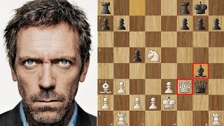 "For those of you that like to watch the show ""House"", there was one episode involving chess. Dr. Gregory House (Hugh Laurie ..."