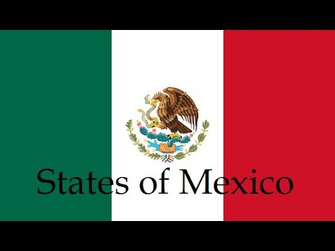 The flags of the Mexican States