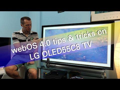 LG webOS 4.0 tips and tricks on OLED55C8 UHD OLED TV