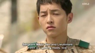 Download Video Descendants of the sun - Funny scene - episode 9 | Song Yoong Ki MP3 3GP MP4