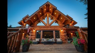 Learn more about this log lodge here http://meadowlarkloghomes.com/log-lodges/montana-lodge ...
