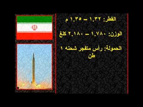 مقارنة بين أقوى صاروخين تمتلكة إيران