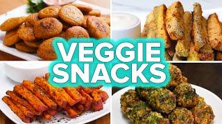 Veggie Snacks 4 Ways by Tasty
