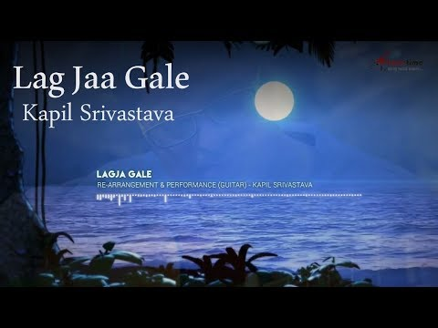 🎸 Lag Jaa Gale (Acoustic Guitar Cover) by Kapil Srivastava | Instrumental Bollywood Lesson, Notes