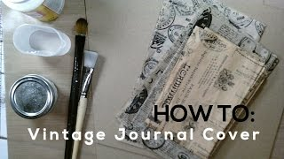 """Hello Everyone! I hope you enjoyed the video. What I like best about this vintage journal cover is not just the beautiful look at the end, but that it makes for a great transition for journal making beginners! It's an easy and fun way to make a vintage journal cover, and there are quite a few ways to make it unique. For example, use your favorite napkin instead of tissue paper, or stamp your own design on tissue paper! there are a lot of ways to have fun with this method. Let me know if you have any questions! Enjoy!TIPS:- Cut (score) with a paper cutter like the one used in this tutorial. - Make sure that your cover is facing the right direction! (See Video for details)MEASUREMENTS:For the wrap around cover cut score at:- 4""""- 5.50""""- 9.50""""- 11""""For the 6x4"""" regular journal cover, cut/score at:- 4""""- 5.50""""- 9.50""""Where you can Find me! Email: Marsw23@gmail.comOn Instagram!https://www.instagram.com/saysomethingcrafty/?hl=enCheck out my Etsy Shop, Where you can purchase my handmade books and journals! https://www.etsy.com/shop/SaySomethingCrafty?ref=hdr_shop_menuDon't forget to follow me on my blog! http://marinawilson.blogspot.com/2016...Follow Me on Pinterest:https://www.pinterest.com/Marsmom23/Make Sure to Check out the JJJ Blog!http://junkjournaljunkies.blogspot.co..."""