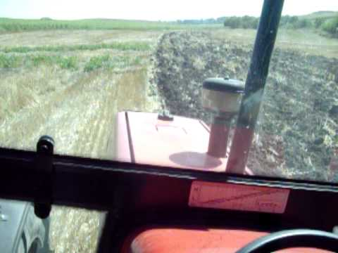 3.085 - Plowing with MF 3.085.