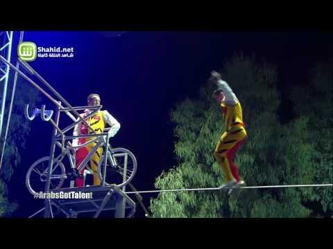 Mustafa Danguir يقطع الحبل الرفيع إلى نهائيات Arabs Got Talent